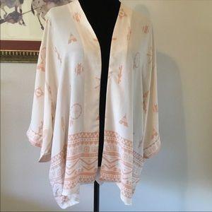 Harlow lightweight Aztec/southwest kimono